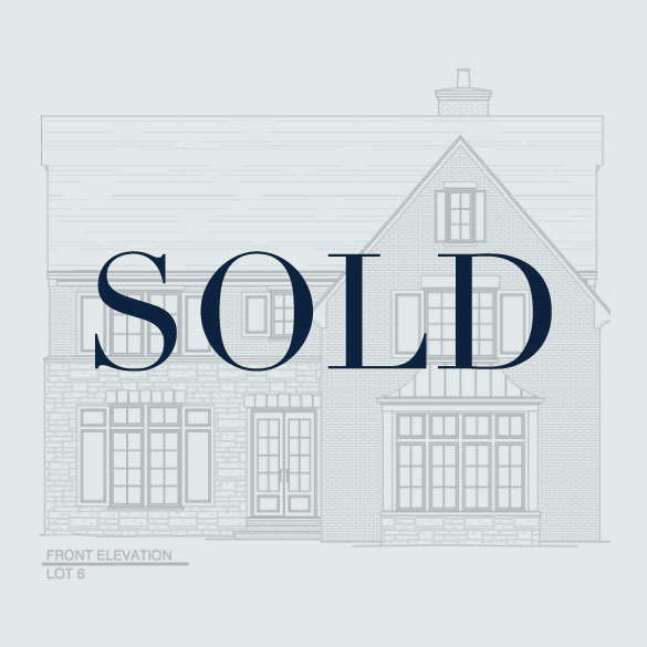 SOLD Lot 6: 3816 Chamblee Dunwoody Road  5 Bedrooms, 5.5 Bathrooms 4,489 Finished, 2,053 Unfinished SF