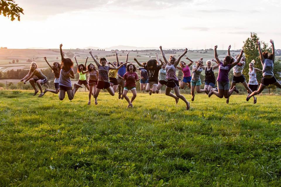 Rebekah's dorm consists of 17 girls, 2 dorm parents, and 2 RAs.