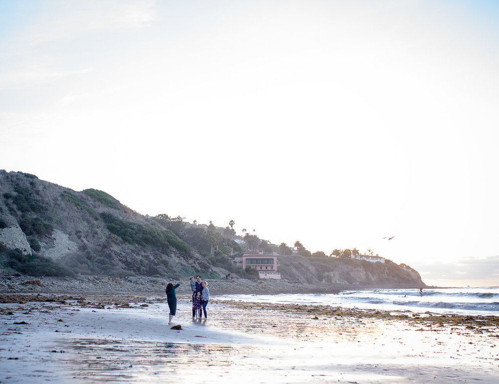Palos Verdes Family Photographer Behind the Scenes