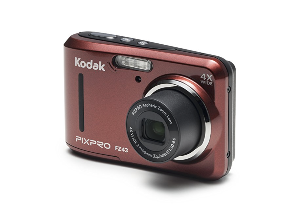 kids camera in red from Kodak