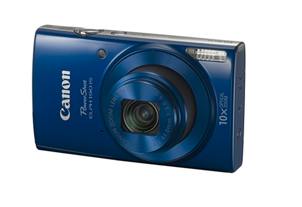 ELPH canon camera for kids in blue