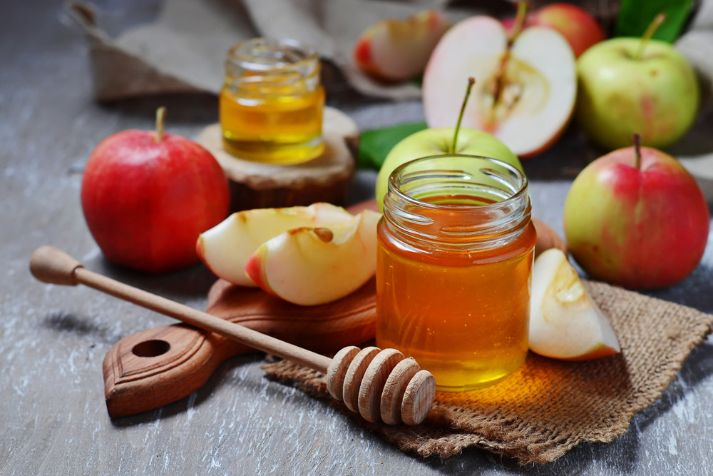 Dip apples in honey on Rosh Hashanah to invite a sweet new year