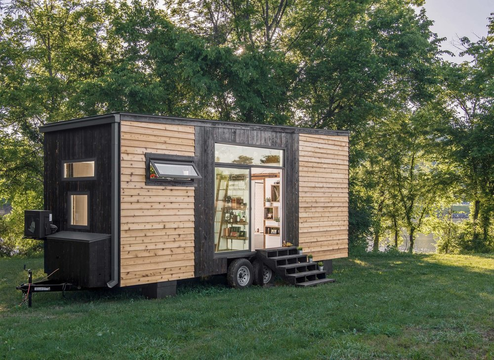 Alpha tiny house new frontier tiny homes for Building a little house