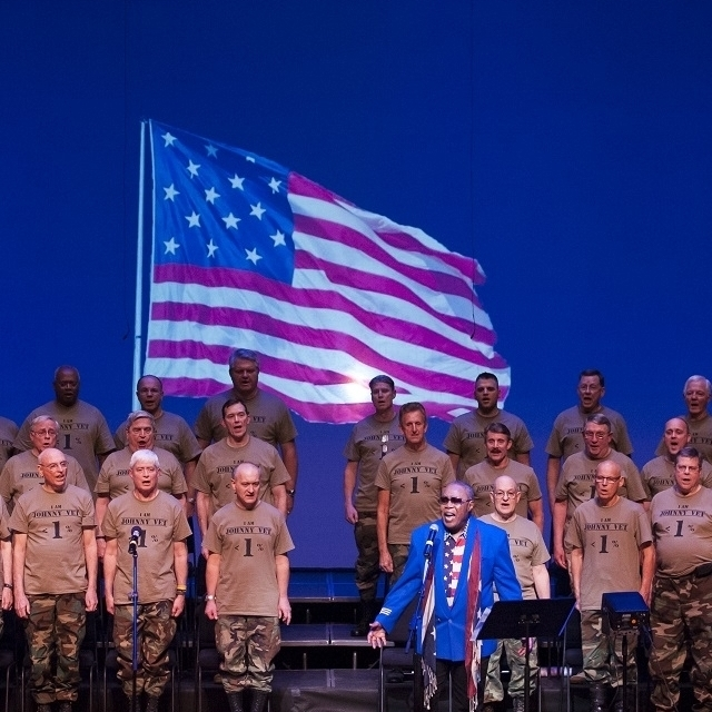 War of 1812 - Legendary Soul Man Sam Moore& West Point Alumni Glee ClubPhoto Credit: Rod Lamkey