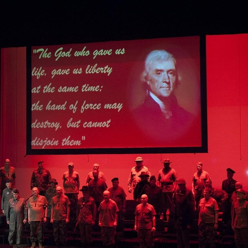 Testament of Freedom - West Point Alumni Glee ClubPhoto Credit: Rod Lamkey