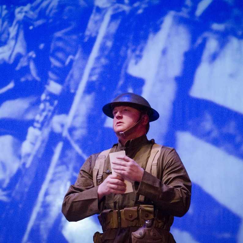 WWI  - Johnny Vet (James Martin)Photo Credit: Rod Lamkey