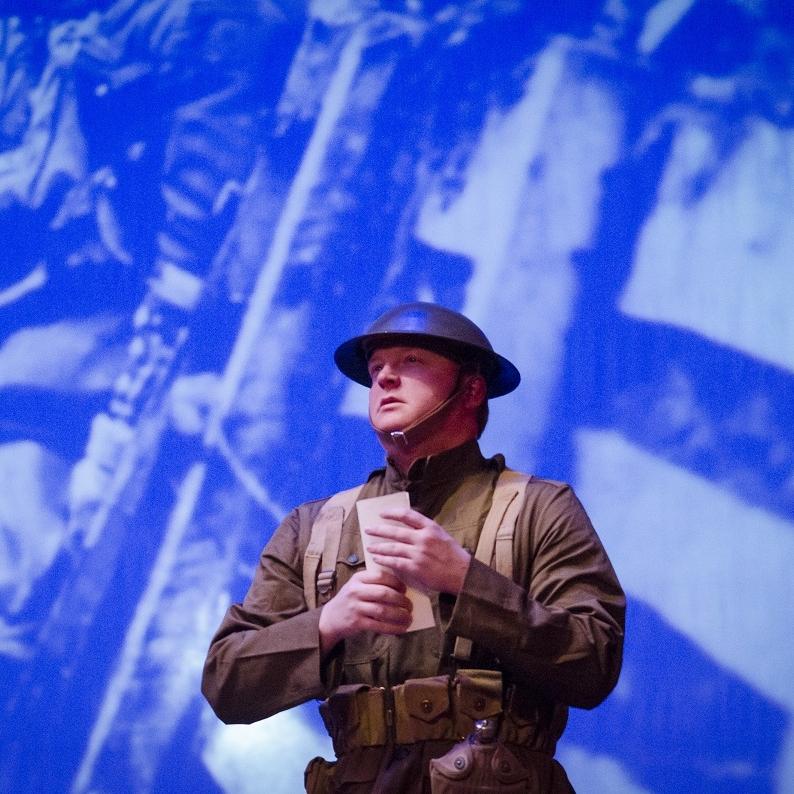 WWI - Johnny Vet (James Martin)Photo Credit: Rod Lamkey
