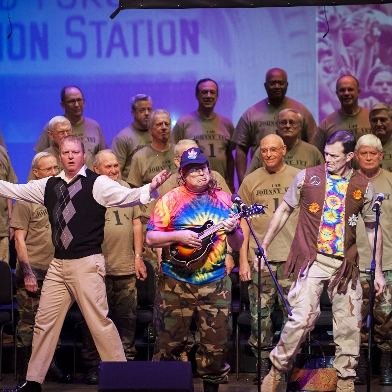 Vietnam War - West Point Alumni Glee Club & Johnny Vet (James Martin)Photo Credit: Rod Lamkey