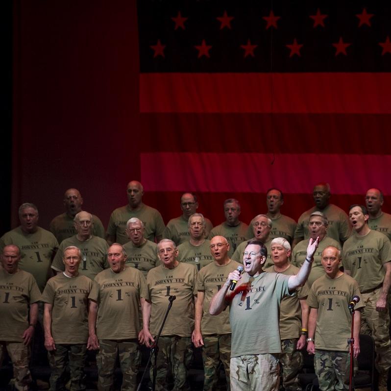 Global War On Terror - Steve Ward '75 & West Point Alumni Glee ClubPhoto Credit: Rod Lamkey