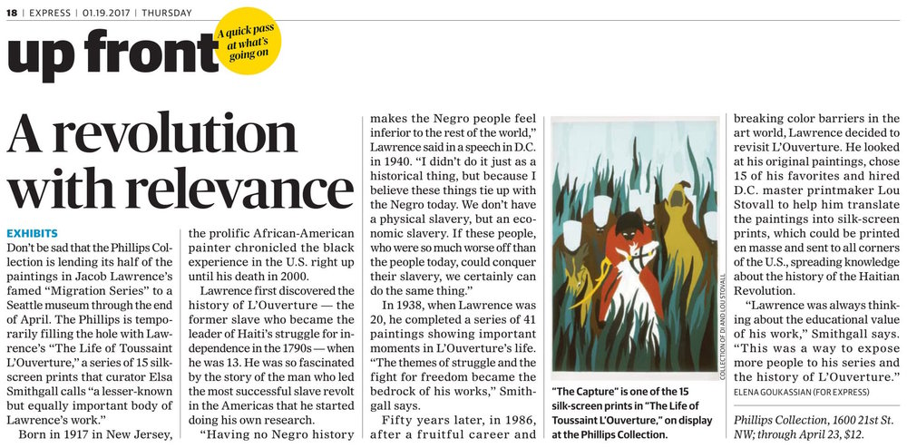 https://www.washingtonpost.com/express/wp/2017/01/20/jacob-lawrence-explores-the-life-of-toussaint-louverture-in-phillips-collection-exhibit