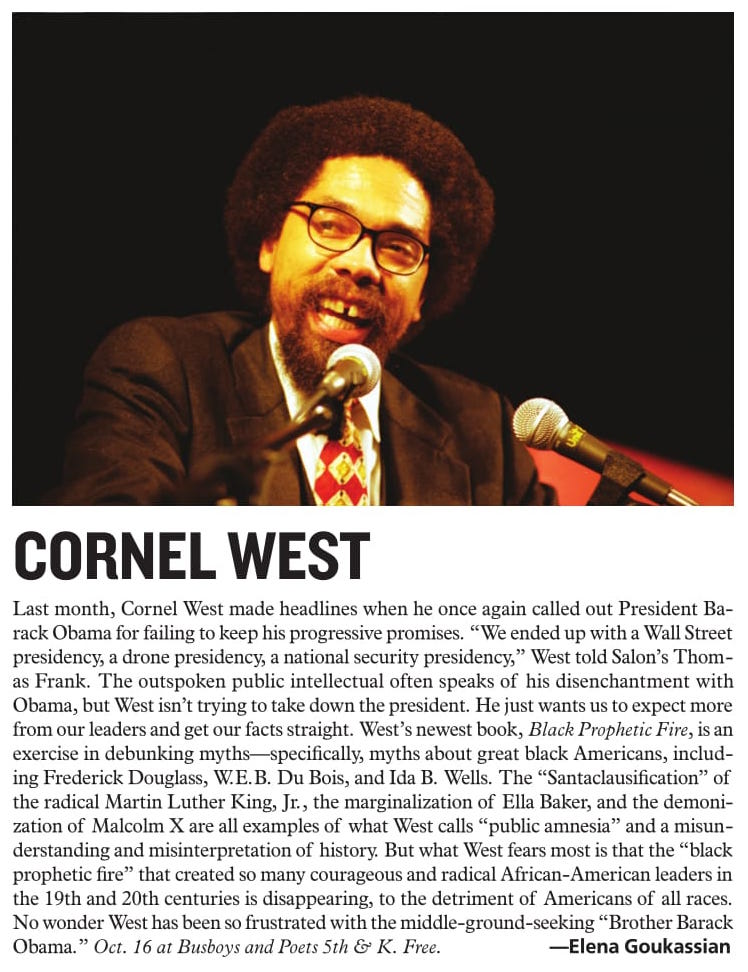 http://www.washingtoncitypaper.com/arts/article/13046001/cornel-west-oct-16-at-busboys-and-poets-5th-k