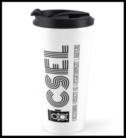 Travel Mug (Vertical Logo)