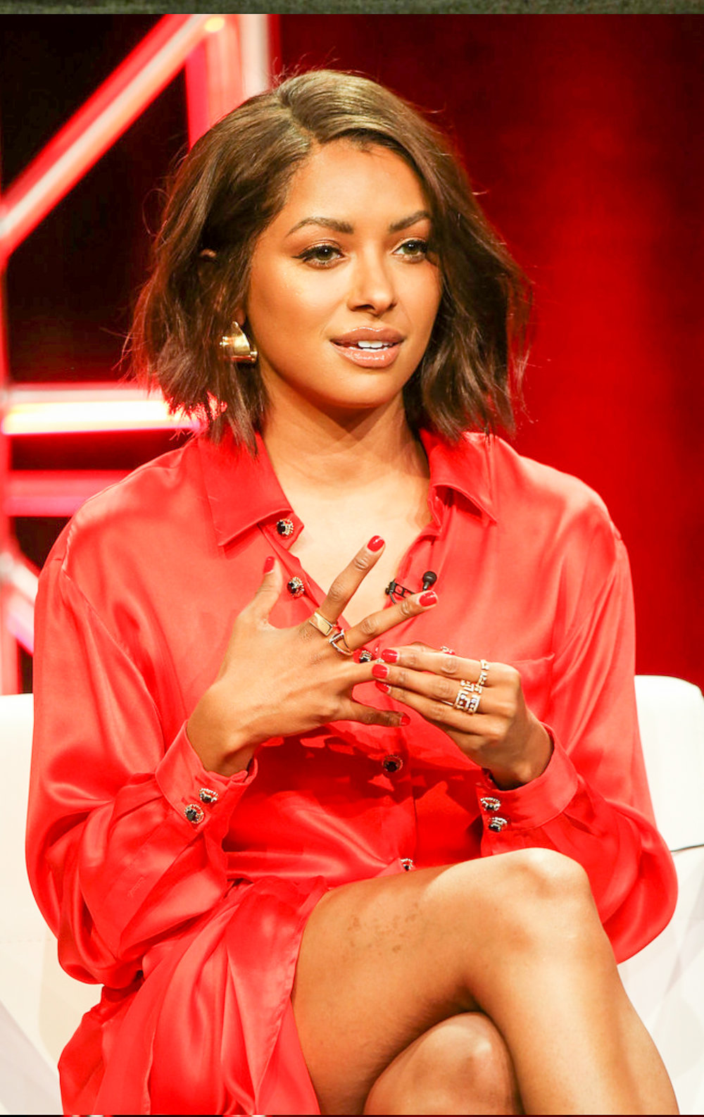 Kat Graham • Avenues & Dahlia Rings