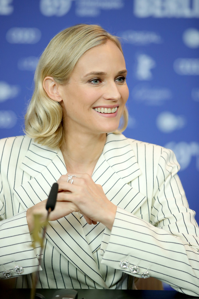 Diane Kruger • Marli ring to 'The Operative' Press Conference at the 69th Berlinale International Film Festival on February 10th in Berlin, Germany