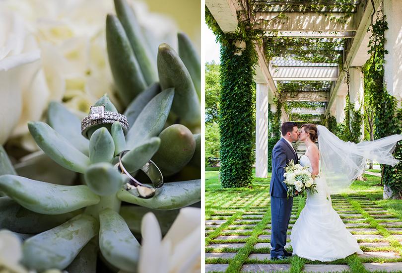 Columbus Indiana wedding photographer bride romantic veil