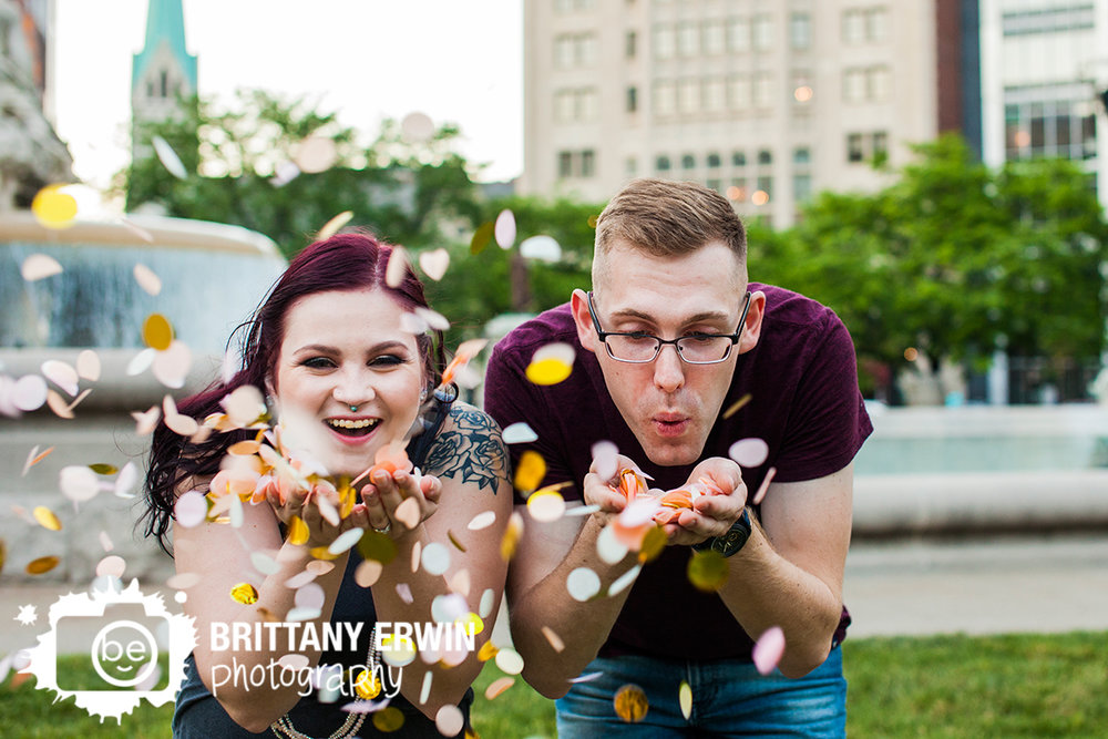 Indianapolis-downtown-engagement-portrait-photographer-confetti-fun-laughing-couple.jpg