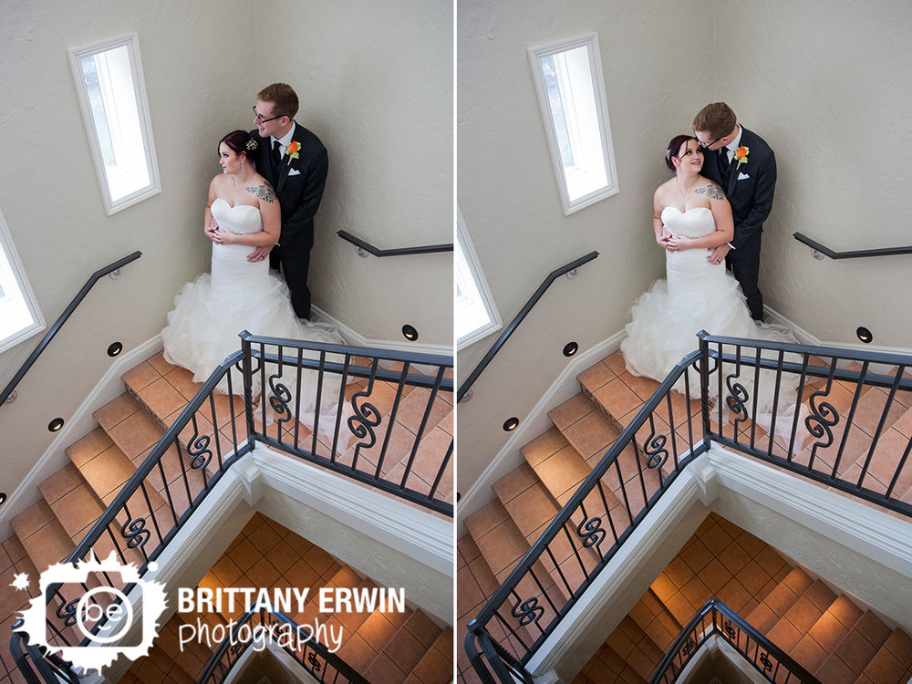 Indianapolis-wedding-photographer-Hillcrest-Country-Club-stairwell-couple-in-window.jpg