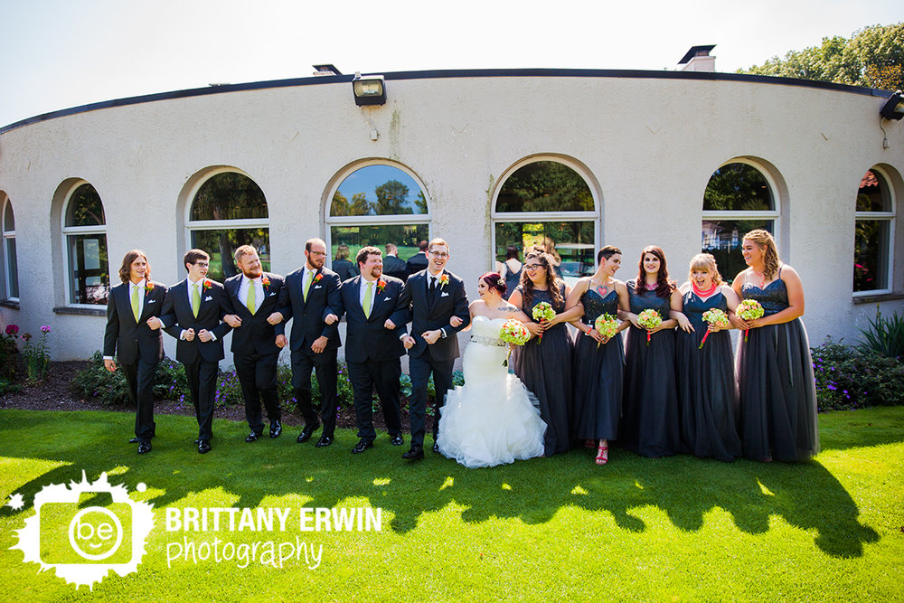 Indianapolis-wedding-photographer-bridal-party-outside-Hillcrest-Country-Club-golf-coarse-venue.jpg