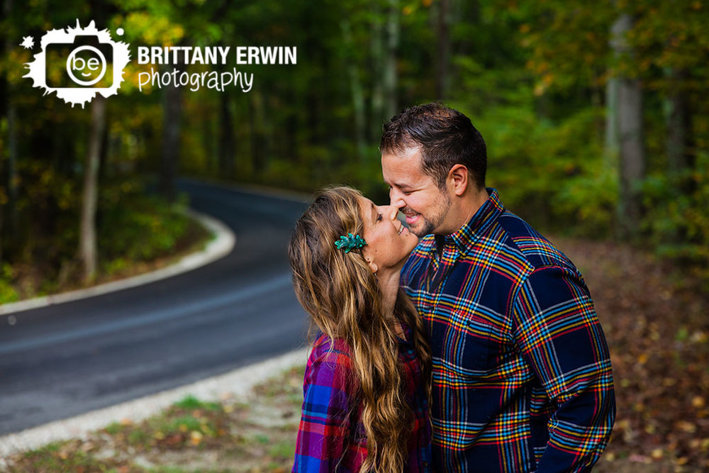 Brown-County-park-anniversary-portrait-photographer-couple-on-path-in-forest-Brittany-Erwin-Photography.jpg