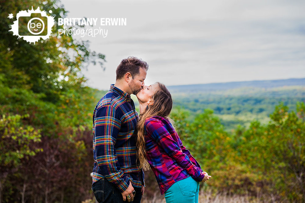 Nashville-Indiana-anniversary-portrait-photographer-couple-kiss-landscape-Brittany-Erwin-Photography.jpg