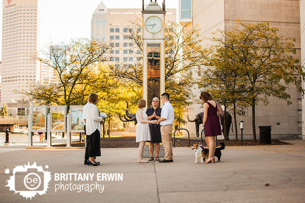 Downtown-Indianapolis-elopement-photographer-State-Museum-clock-ceremony.jpg