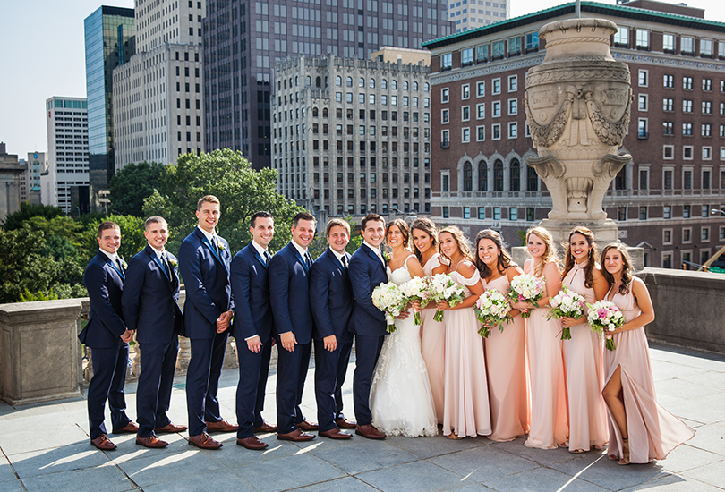 Downtown Indy wedding - weddingday Online -