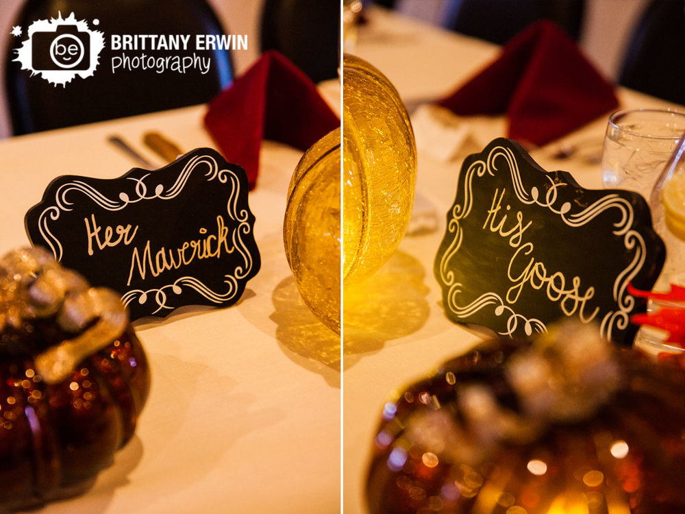Fall-wedding-photographer-glass-pumpkin-head-table-chalkboard-sign-Purgatory-Golf-Club-photographer.jpg