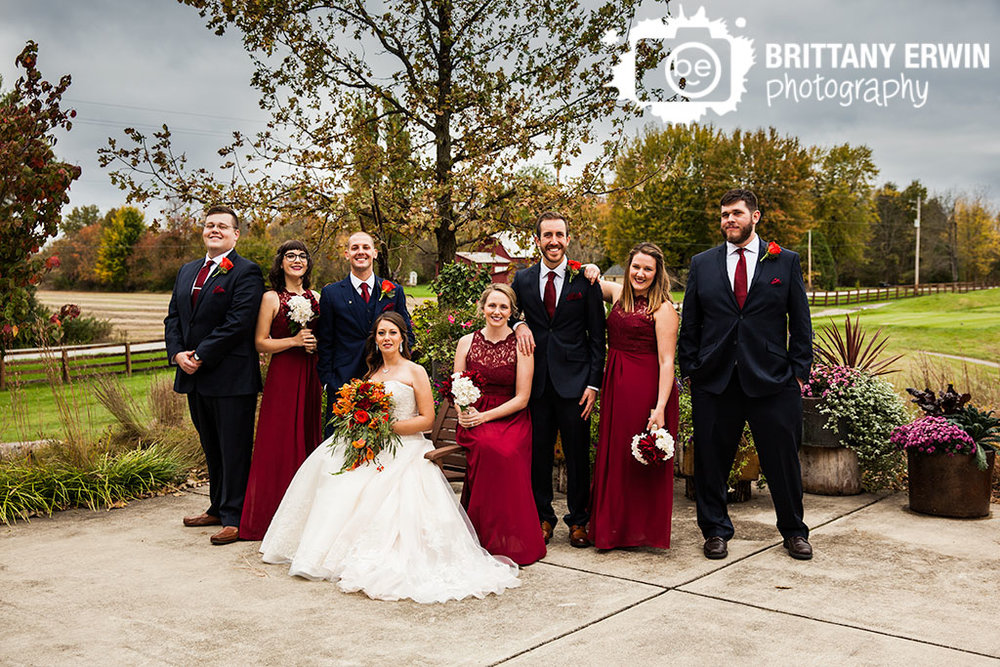 Noblesville-Indiana-wedding-bridal-party-photographer-group-fall-flowers-Purgatory-Golf-Club.jpg