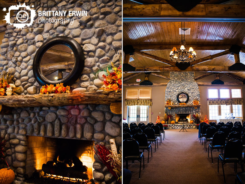 Purgatory-Golf-Club-wedding-photographer-ceremony-space-fireplace-mirror-fall-leaf-altar.jpg