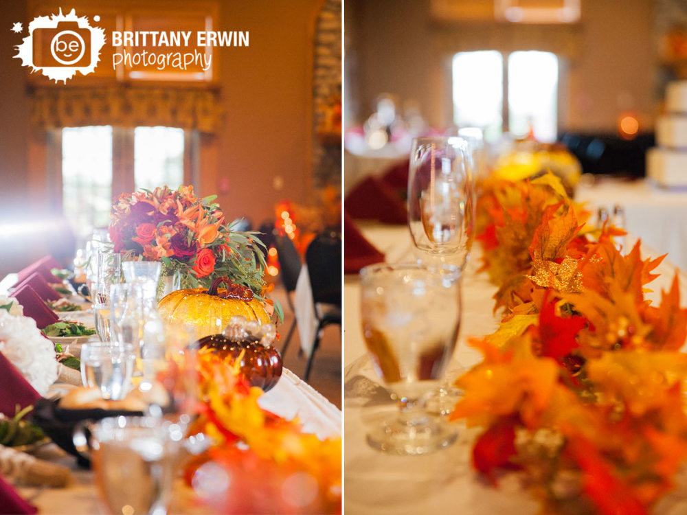 Purgatory-Golf-Club-wedding-reception-photographer-head-table-fall-fleaf-pumpkin-tablescape.jpg