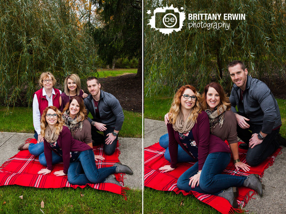 Indianapolis-family-portrait-photographer-weeping-willow-red-plaid-blanket-mother-son-daughter.jpg