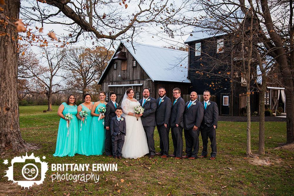 Barn-at-Kennedy-Farm-wedding-photographer-bridal-party-outside-group.jpg