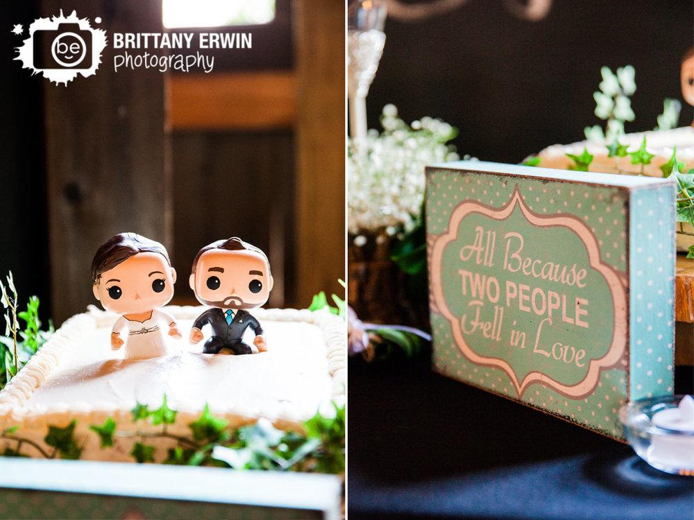 Barn-at-Kennedy-Farm-wedding-photographer-grooms-cake-funko-pop-bride-groom-figures.jpg