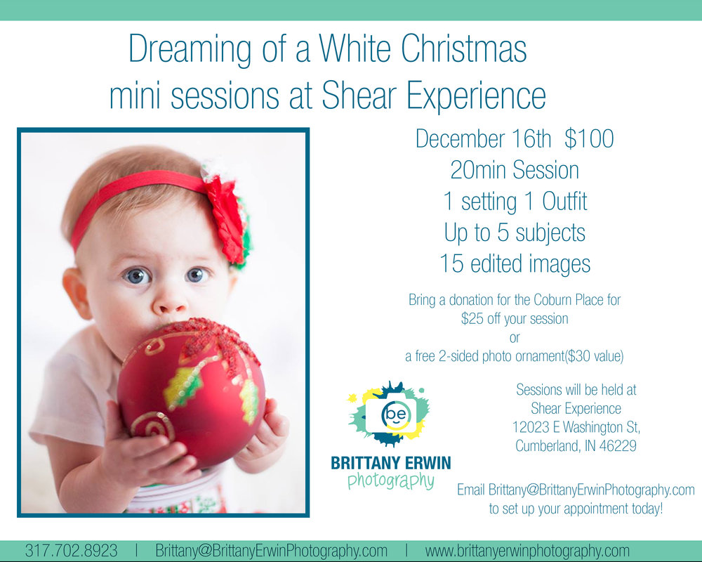 2017 Christmas mini portrait sessions in Cumberland