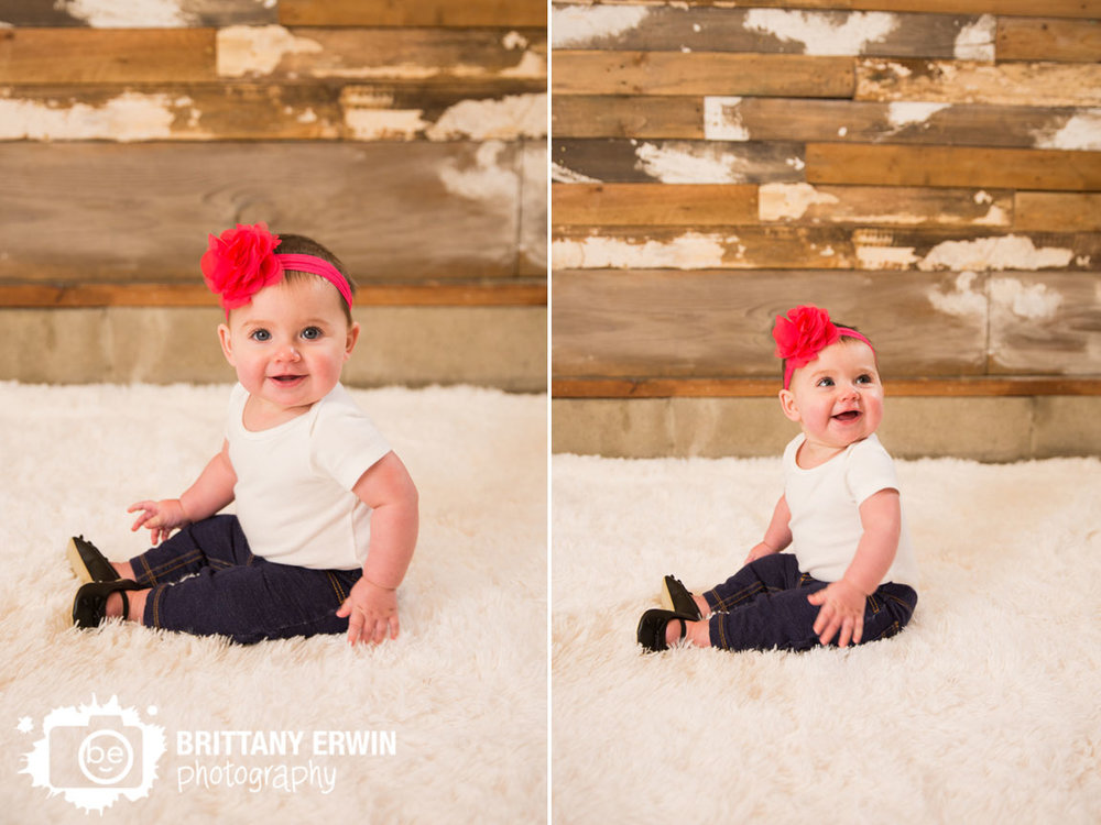 Speedway-Indiana-portrait-studio-photography-baby-girl-pink-headband-rustic-wood-wall.jpg