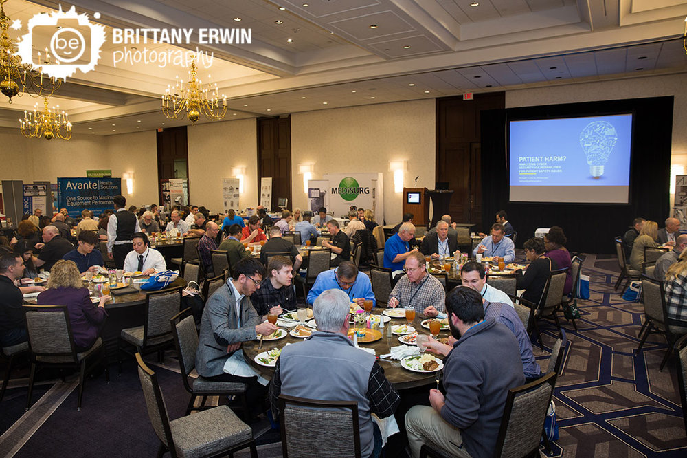 Indiana-biomedical-society-conference-downtown-sheraton-hotel-group-lunch.jpg