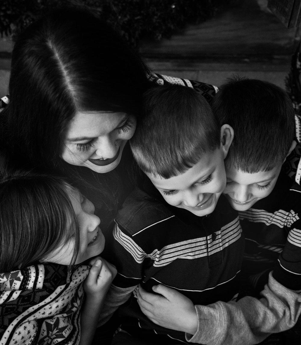 Indianapolis studio portrait family photographer