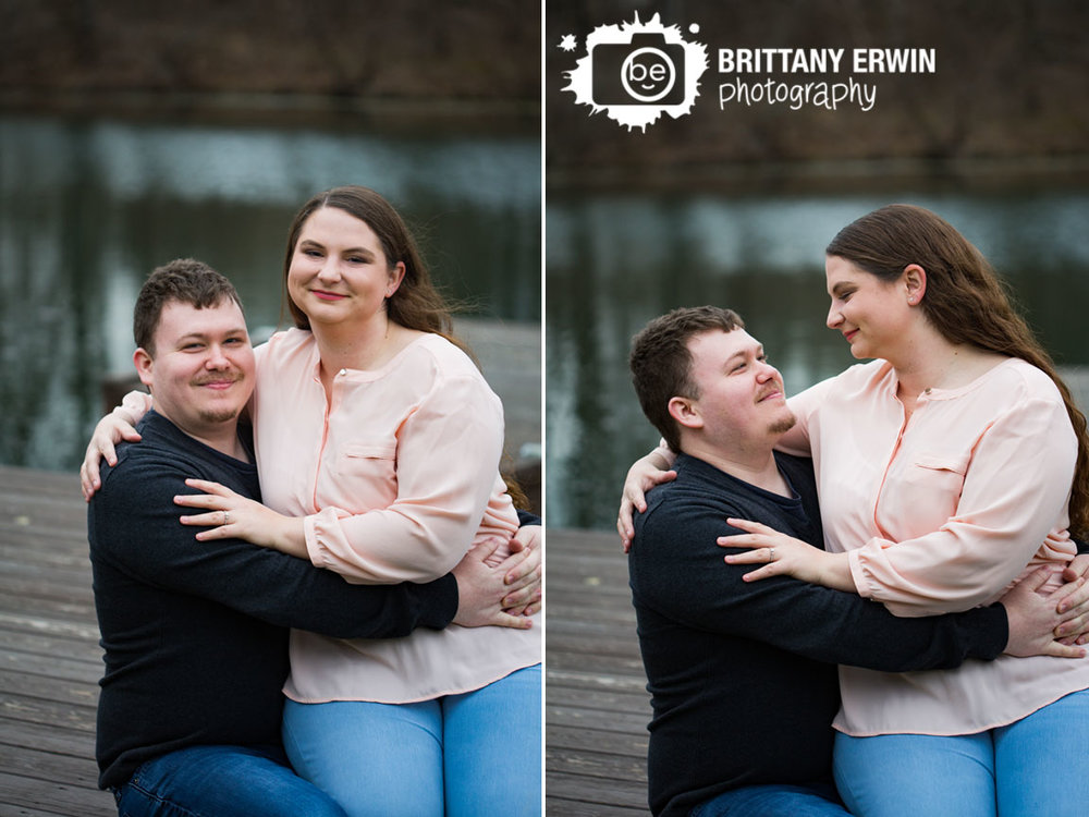 Indianapolis-engagement-portrait-photographer-couple-on-dock-at-pond-country-session.jpg