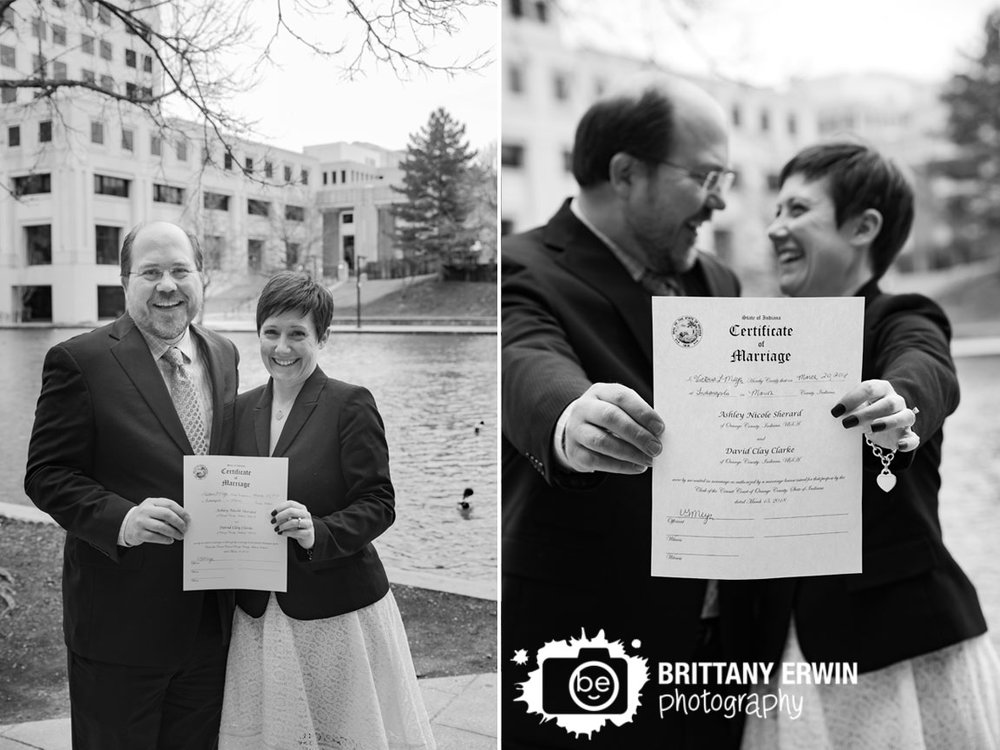 Elopement-photographer-couple-on-indianapolis-canal-signed-marriage-license.jpg