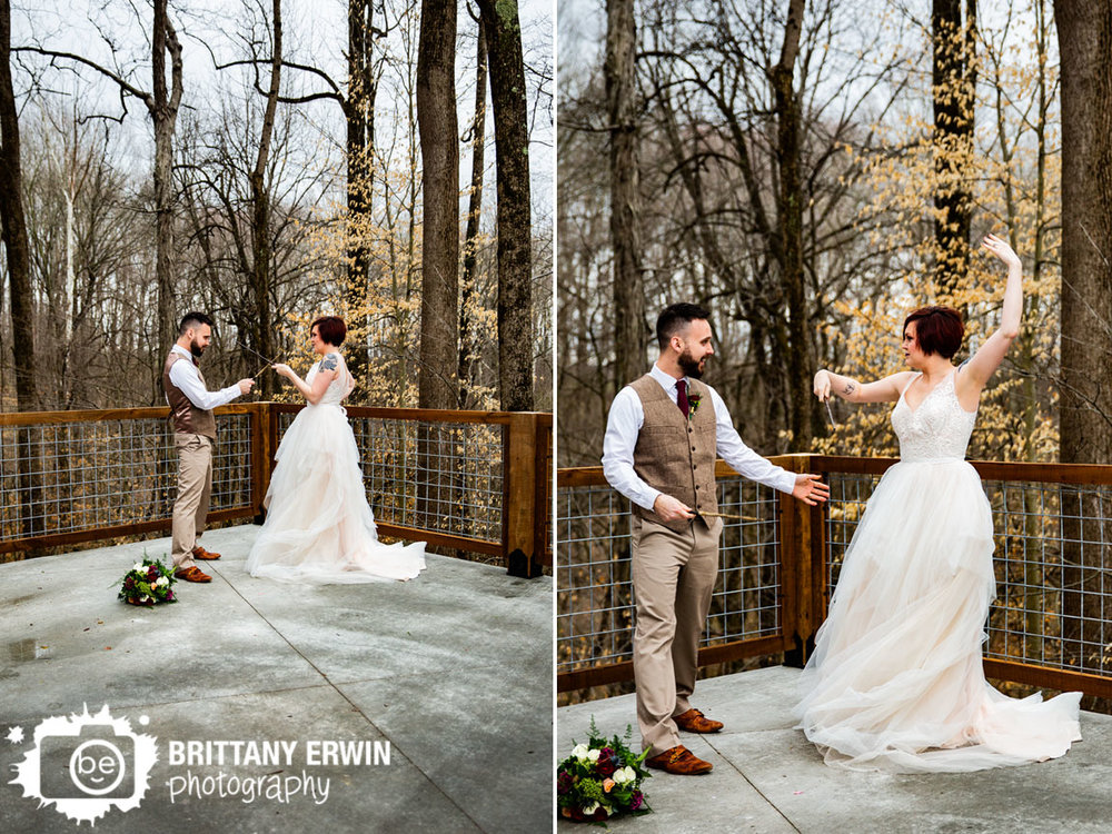 Greencastle-Indiana-wedding-photographer-harry-potter-nerd-nerdy-fox-rentals-couple-wand-battle.jpg