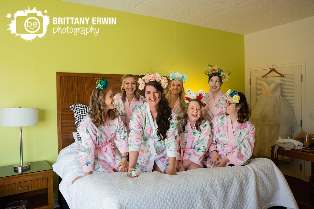 columbus-indiana-bridesmaids-fun-on-bed-mickey-mouse-ears.jpg