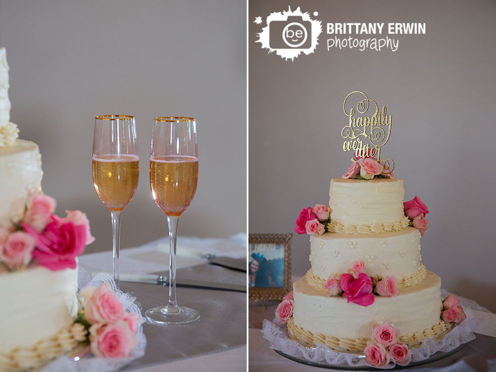 Columbus-Indiana-wedding-reception-photographer-tale-as-old-as-time-toasting-flutes-cake-roses.jpg