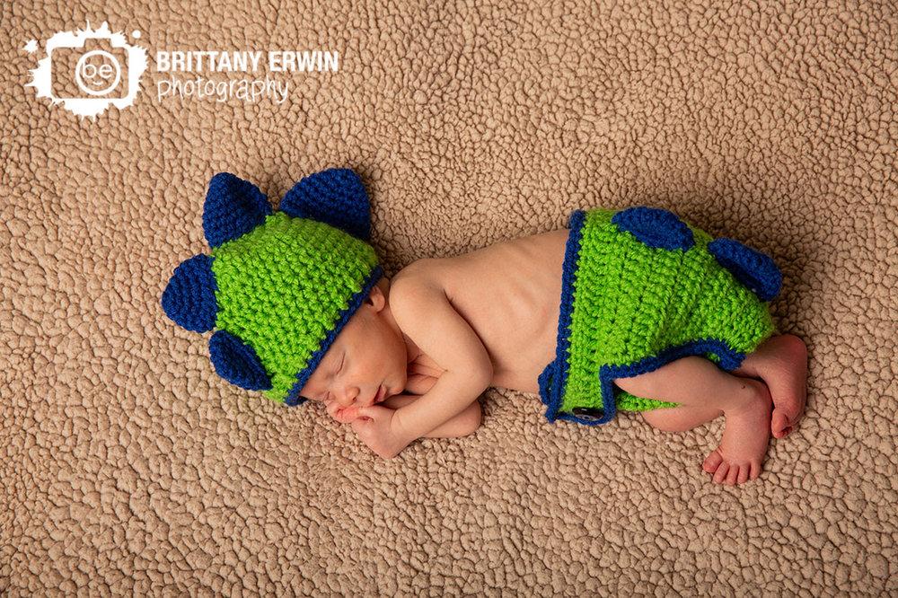 Indianapolis-newborn-baby-boy-portrait-photographer-dinosaur-diaper-cover-matching-hat-crochet.jpg