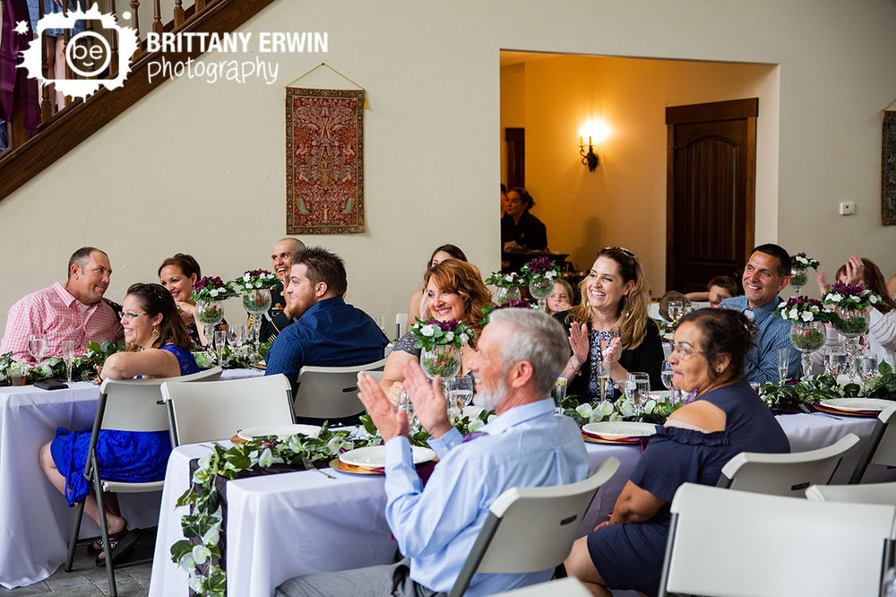 Clayshire-Castle-wedding-photographer-mother-of-bride-reaction-speech.jpg