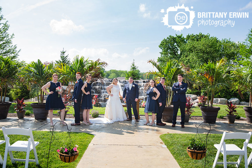Moorseville-Indiana-wedding-photographer-Jones-Crossing-bridal-party-group-waterfall.jpg