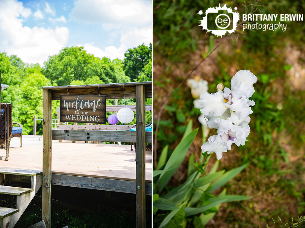 welcome-to-our-wedding-sign-on-porch-with-lanters-iris-flower.jpg