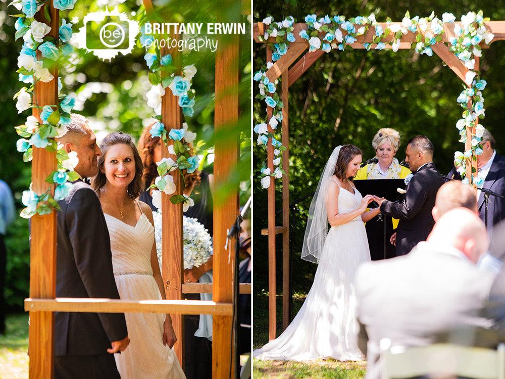 wedding-ceremony-outdoor-garland-white-blue-roses.jpg