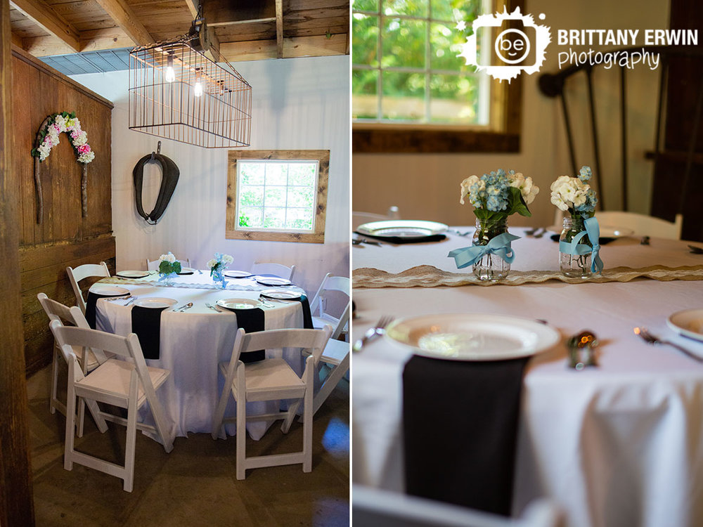 Wedding-reception-venue-horse-barn-flower-centerpiece-with-burlap-and-lace.jpg