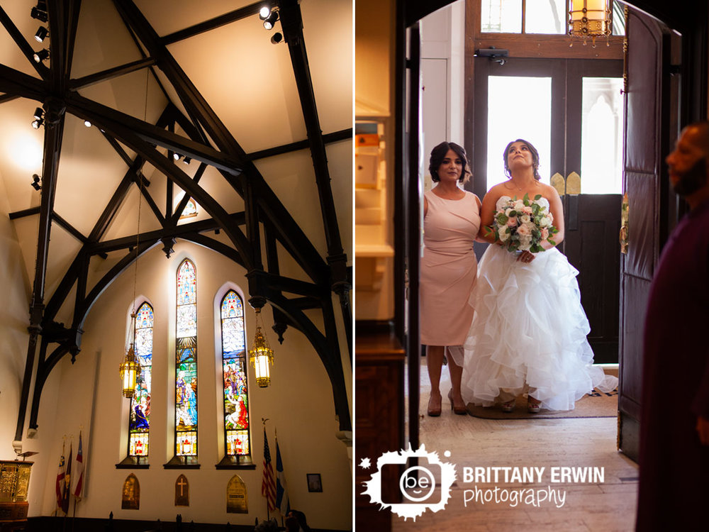 Bride-waiting-with-mother-to-walk-down-aisle-christ-church-Indianapolis.jpg