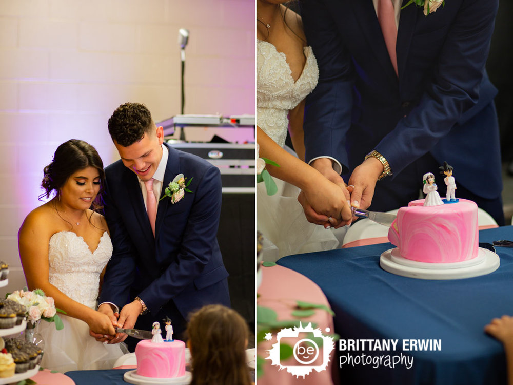 Indianapolis-wedding-photographer-cake-cutting-couple-dragon-ball-z-topper.jpg
